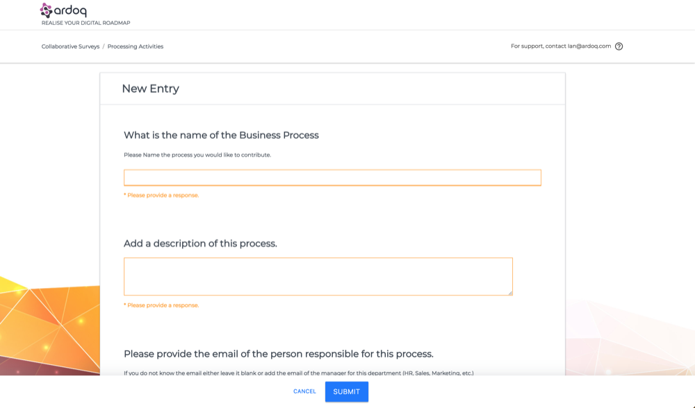 Engage Business Owners with Surveys