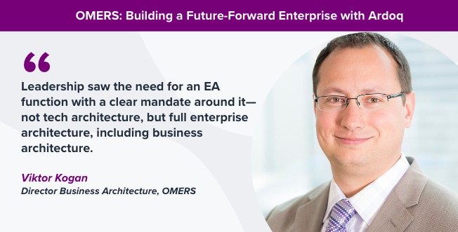 omers enterprise architecture
